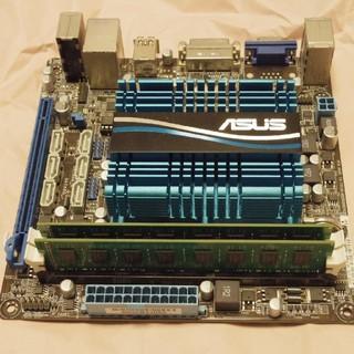 エイスース(ASUS)のAMD CPU付マザーボードと8GBメモリのセット (PCパーツ)