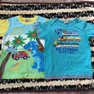 ミキハウス(mikihouse)のミキハウス 半袖Tシャツ 2枚セット 110 プッチー  (Tシャツ/カットソー)