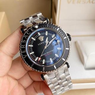 ヴェルサーチ(VERSACE)のメンズ VERSACE ヴェルサーチ 腕時計 専用箱付き 未使用 人気(金属ベルト)