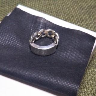 テンダーロイン(TENDERLOIN)のテンダーロイン idリング 21号 美品(リング(指輪))