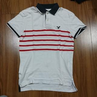 アメリカンイーグル(American Eagle)の値下 アメリカンイーグル ポロシャツ US Sサイズ(ポロシャツ)