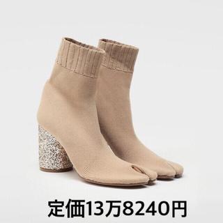 マルタンマルジェラ(Maison Martin Margiela)のマルジェラ 足袋ブーツ  新品  ベージュ margiela(ブーツ)