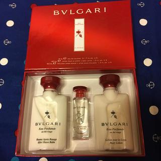 ブルガリ(BVLGARI)の❣️お値下げ❣️ブルガリ アメニティセット(旅行用品)