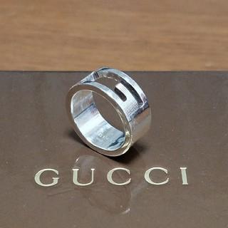 d714c88e96a9 グッチ(Gucci)の[正規品] GUCCI グッチ シルバー リング 8号 G. リング(指輪)