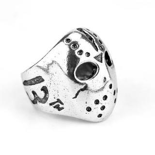 ホッケーマスクキラーリング メンズリング(リング(指輪))