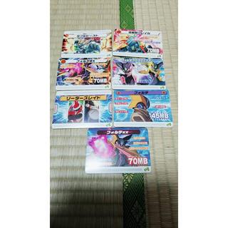 ゲームボーイアドバンス(ゲームボーイアドバンス)の(キャノン様専用)ロックマンエグゼ改造カード まとめ売り 非売品(携帯用ゲームソフト)
