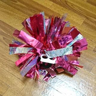 ホッカイドウニホンハムファイターズ(北海道日本ハムファイターズ)の日本ハムファイターズ 応援ポンポン ピンク(応援グッズ)
