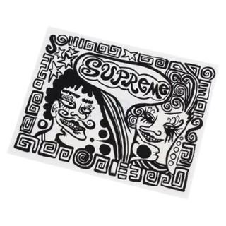 シュプリーム(Supreme)の送料無料【Supreme】シュプリーム ステッカー デカール シール モノクロ絵(ステッカー)