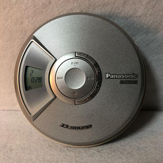 パナソニック(Panasonic)のPanasonic ポータブルCDプレーヤー SL-CT352-S(ポータブルプレーヤー)