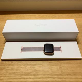 アップル(Apple)のApple Watch series4 44mm アルミ ゴールド (腕時計(デジタル))