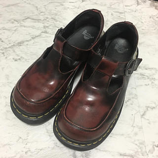 ドクターマーチン(Dr.Martens)のDr.Martens 英国製 t-bar(ローファー/革靴)