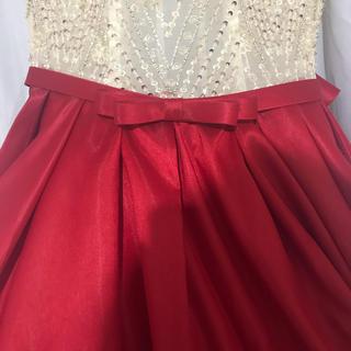 赤ドレス確認用(ウェディングドレス)