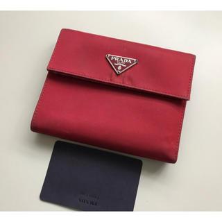3f96fa3cfc99 プラダ 財布(レディース)(レッド/赤色系)の通販 600点以上 | PRADAの ...