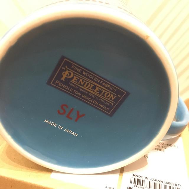 SLY(スライ)のあーちゃん様専用 ■SLY■ PENDLETON コラボ マグカップ ペア インテリア/住まい/日用品のキッチン/食器(グラス/カップ)の商品写真