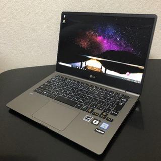 エルジーエレクトロニクス(LG Electronics)のLG gram(13Z990-VA76J) 13.3インチ Core i7(ノートPC)