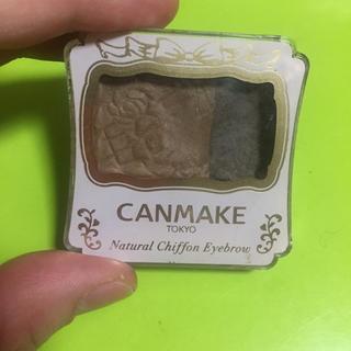 キャンメイク(CANMAKE)のキャンメイク✨SNS人気✨ナチュラルシフォンアイブロウ✨04(パウダーアイブロウ)