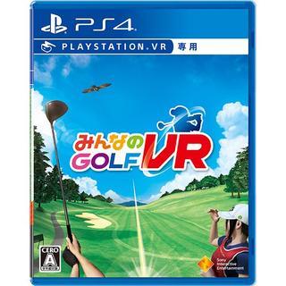 PlayStation VR - PS4 みんなのGOLF VR  VR専用