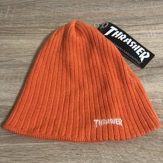 スラッシャー(THRASHER)のニット帽 THRASHER スラッシャー 新品タグ付き 美品 早い者勝ち(ニット帽/ビーニー)