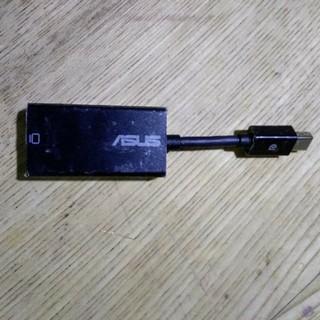 エイスース(ASUS)のASUS  MiniDisplayport アナログRGB 変換ケーブル(PC周辺機器)