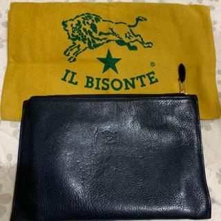 イルビゾンテ(IL BISONTE)の直営店購入   イルビゾンテ   フラットポーチ(ポーチ)