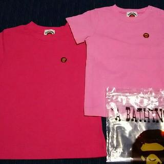 アベイシングエイプ(A BATHING APE)のBAPE キッズ KIDS Tシャツ 90 エイプ 新品未使用 正規品 (Tシャツ/カットソー)