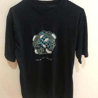 モンベル(mont bell)のmont-bell Tshirs bk Mサイズ(Tシャツ/カットソー(半袖/袖なし))