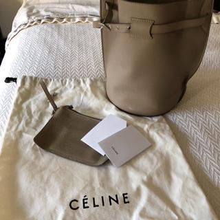 f3eaf9b88c1d セリーヌ(celine)の銀座シックス購入正規Celine セリーヌビッグバッグバケット ショルダーバッグ