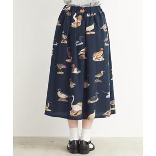 フィグロンドン(fig London)のWild ducks & CO スカート ネイビー(ひざ丈スカート)