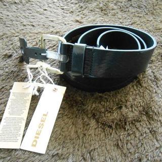 ディーゼル(DIESEL)の新品未使用品 ディーゼル ベルト サイズ 36インチ 90cm ブラック(ベルト)