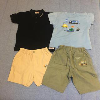 ファミリア(familiar)のミキハウス ファミリア ポロシャツ パンツ Tシャツ 半袖 90(その他)