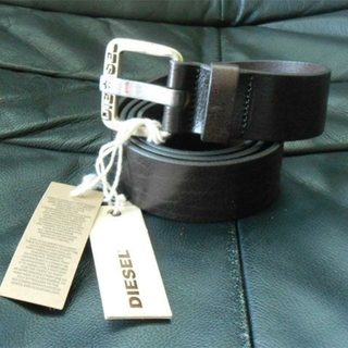 ディーゼル(DIESEL)の新品未使用品 ディーゼル ベルト サイズ38インチ 95cm ダークブラウン(ベルト)
