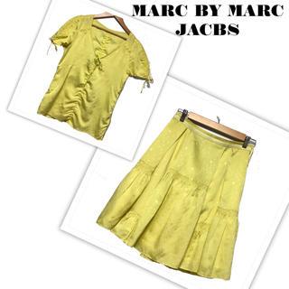 マークバイマークジェイコブス(MARC BY MARC JACOBS)のMARC BY MARC JACBS セットアップ(シャツ/ブラウス(半袖/袖なし))