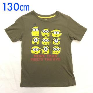 ユニクロ(UNIQLO)のUSED UNIQLO UT ミニオン 半袖Tシャツ 130㎝サイズ(その他)
