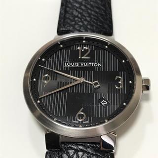 ルイヴィトン(LOUIS VUITTON)のLOUIS VUITTON ダミエ グラフィット ルイヴィトンQ1D07 腕時計(腕時計(アナログ))