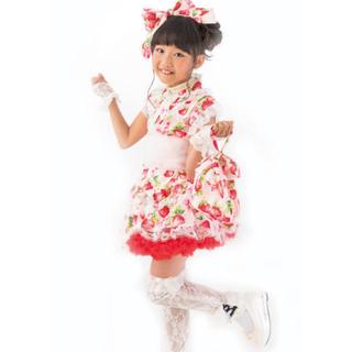 EARTHMAGIC - 天使のドレス屋さん いちご柄 浴衣ドレス