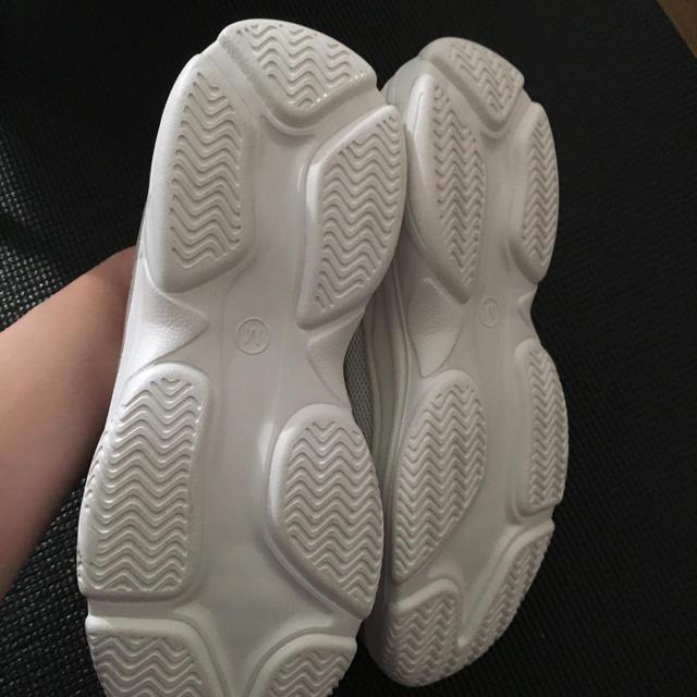 しまむら(シマムラ)のダッドスニーカー レディースの靴/シューズ(スニーカー)の商品写真