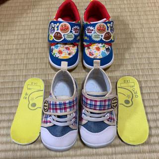 ニシマツヤ(西松屋)の子供靴 14.0cm 2足セット(スニーカー)