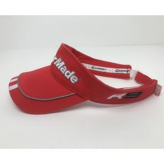 アディダス(adidas)のC054 美品★ アディダス テーラーメード サンバイザー キャップ 帽子(キャップ)
