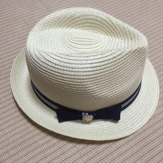シマムラ(しまむら)の帽子 しまむら  新品未使用(麦わら帽子/ストローハット)