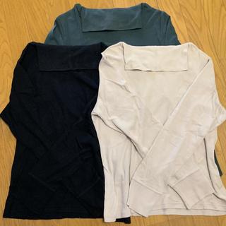 ニッセン(ニッセン)の長袖タートルカットソー 【 1枚 】(Tシャツ(長袖/七分))