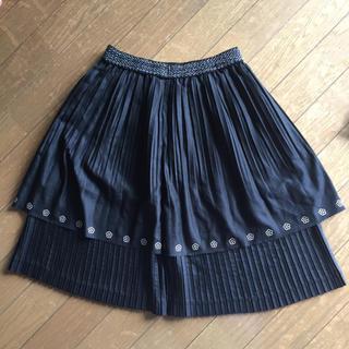 マリークワント(MARY QUANT)のSALEマリークワント プリーツスカート(ひざ丈スカート)