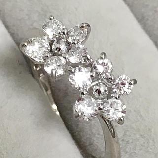 新品❤️プラチナ ダイヤモンド リング0.50ct♪(リング(指輪))