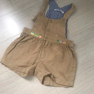 ファミリア(familiar)のfamiliar   可愛い ♡ つなぎ ズボン(パンツ/スパッツ)