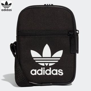アディダス(adidas)の★送料無料★UK直輸入★アディダス オリジナルス★フェスティバルバッグ★黒x白★(ショルダーバッグ)