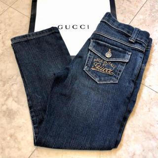 グッチ(Gucci)のGUCCI♡デニムパンツ♡100 (パンツ/スパッツ)
