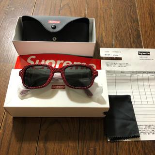 シュプリーム(Supreme)のsupreme Marvin Sunglasses Red Sneak skin(サングラス/メガネ)