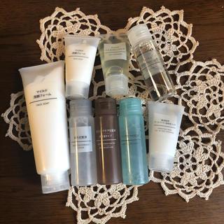 ムジルシリョウヒン(MUJI (無印良品))の無印 洗顔フォーム クレンジング 化粧水 美容液ジェルセット(洗顔料)