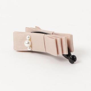 ThreeFourTime - 未使用♡スリー フォー タイム  バナナクリップ♡リボン ピンク パール♡