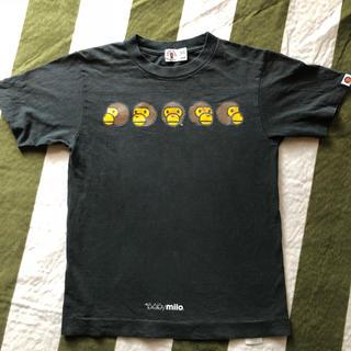 アベイシングエイプ(A BATHING APE)のBABY  MILO  xsサイズ(Tシャツ(半袖/袖なし))