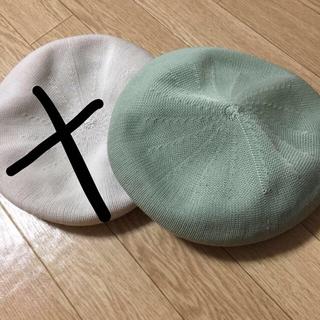 ケービーエフ(KBF)のサマーベレー ✩(ハンチング/ベレー帽)